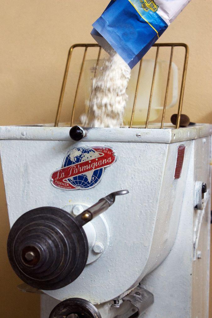 Ristorante dei Merli Fabbricazione pasta